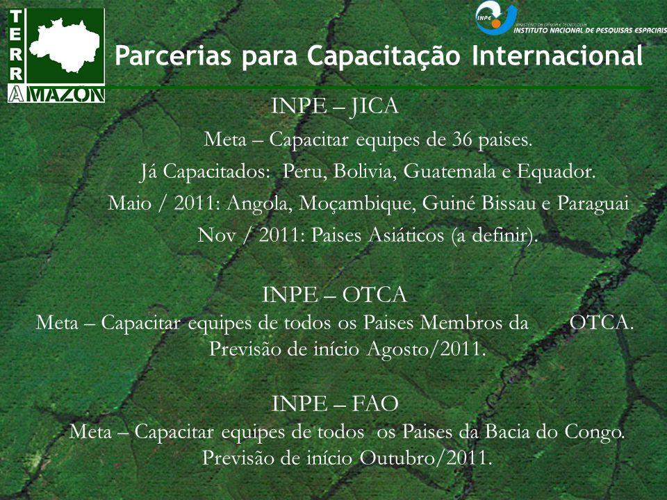 Parcerias para Capacitação Internacional