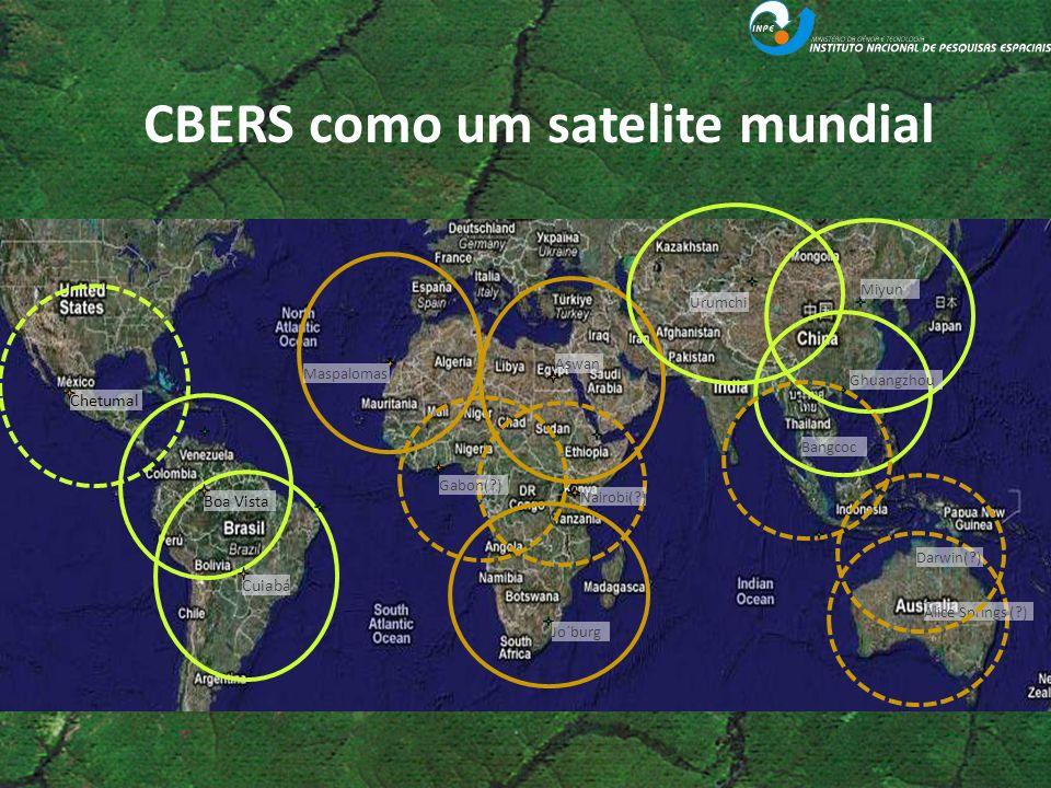 CBERS como um satelite mundial