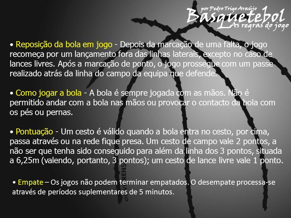 Basquetebol As regras do jogo por Pedro Trigo Araújo