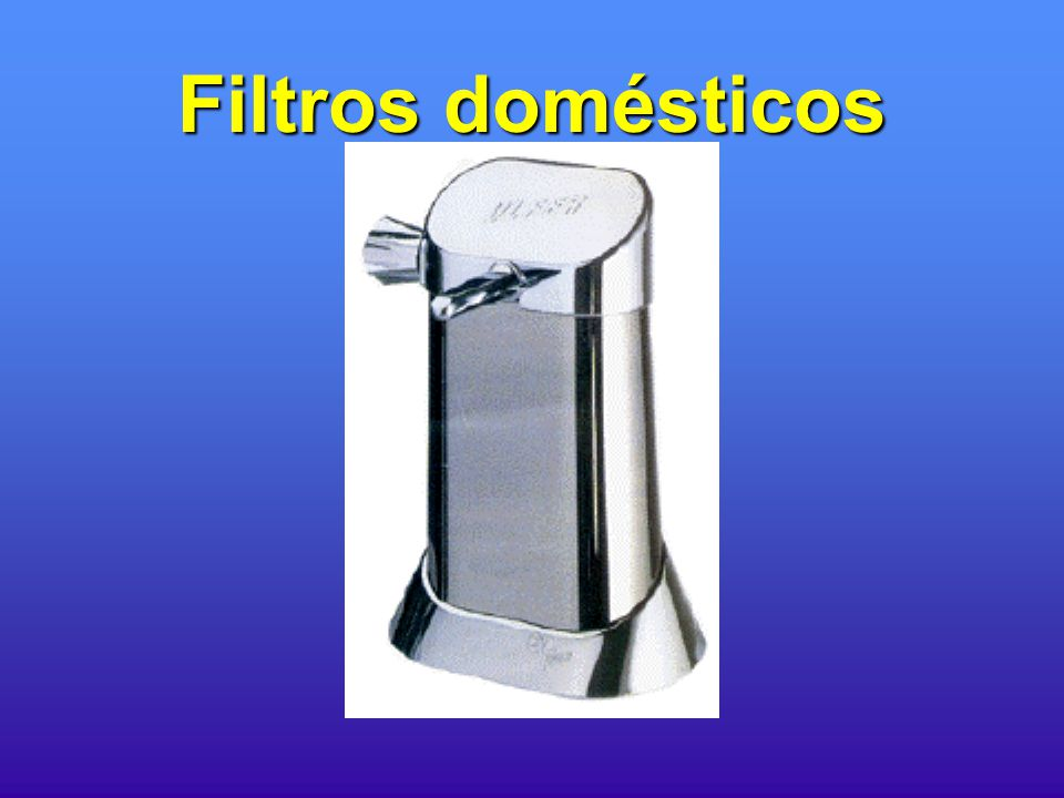 Gua no mundo ppt carregar - Filtros de agua domesticos ...