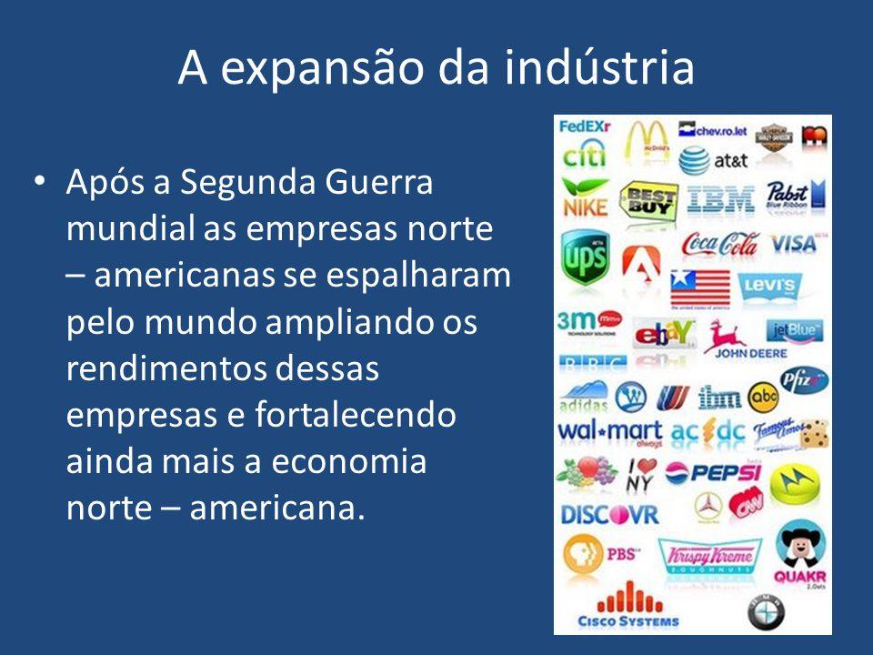 A expansão da indústria