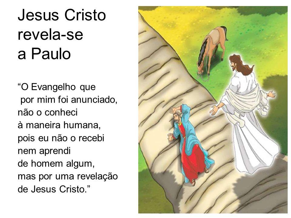 Jesus Cristo revela-se a Paulo