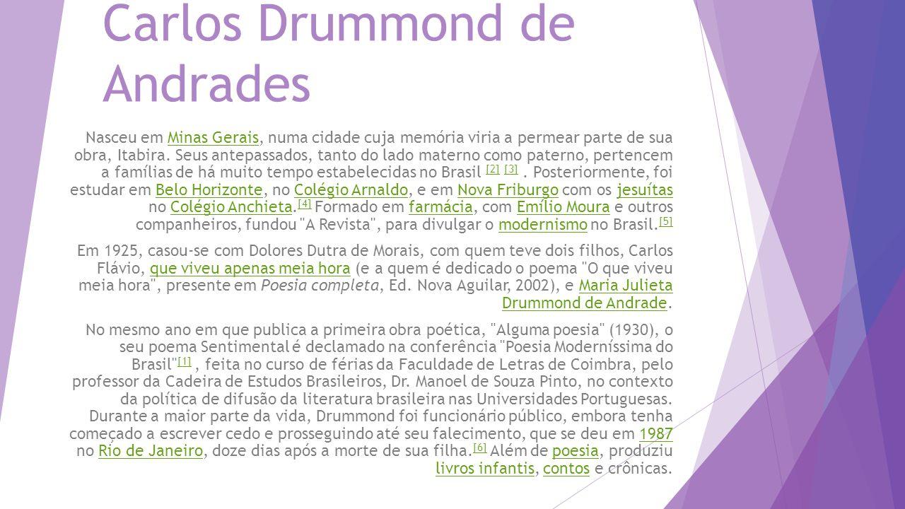 Carlos Drummond de Andrades