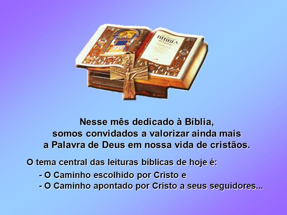 Nesse mês dedicado à Bíblia, somos convidados a valorizar ainda mais a Palavra de Deus em nossa vida de cristãos.