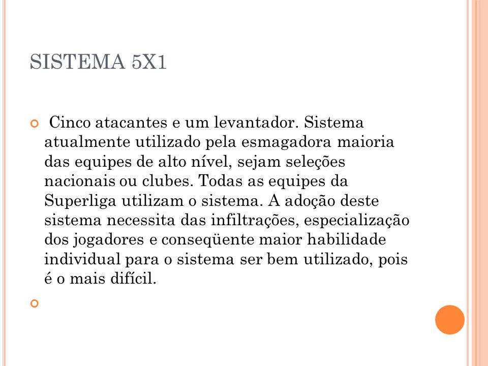 SISTEMA 5X1