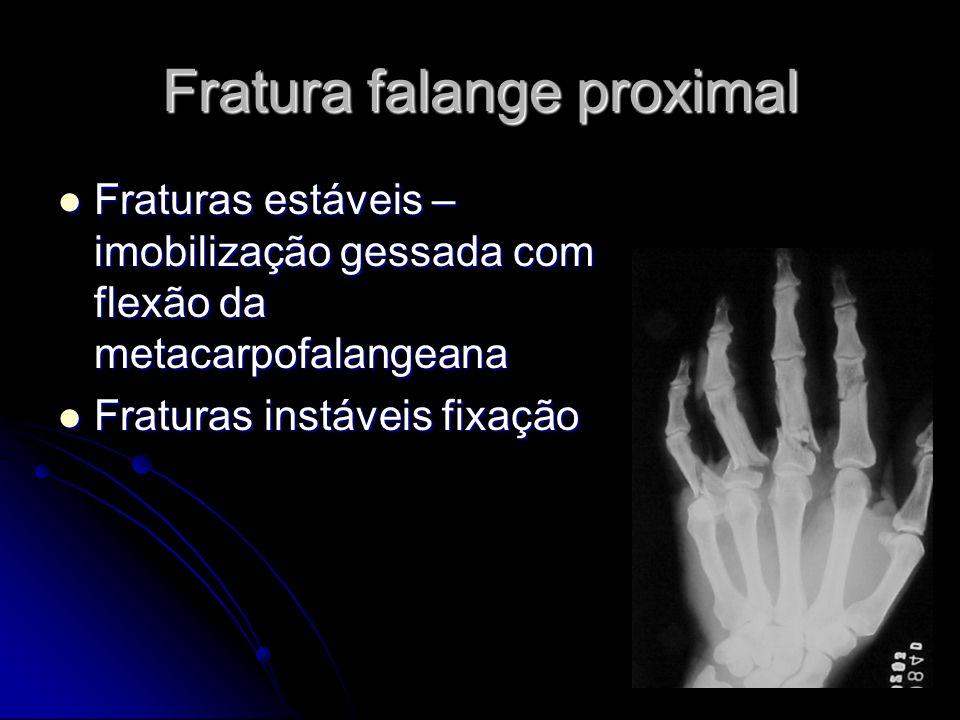 Fratura falange proximal