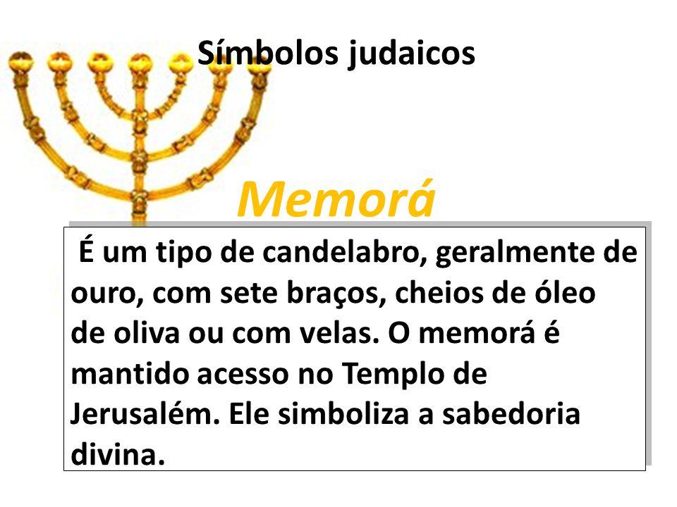 Símbolos judaicos Memorá