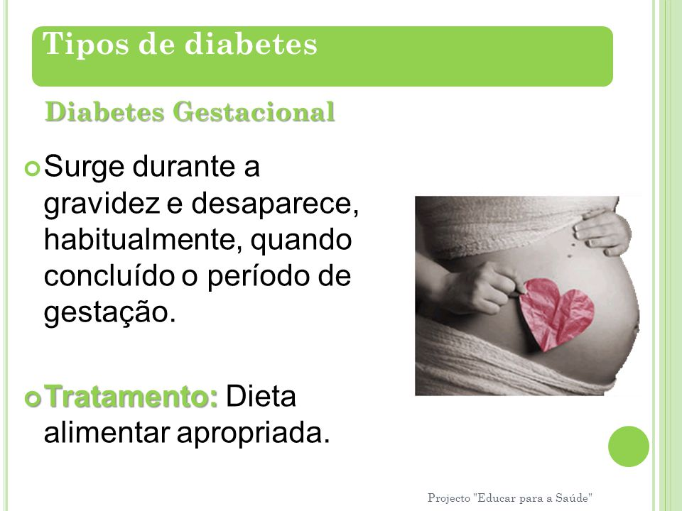 Tratamento: Dieta alimentar apropriada.