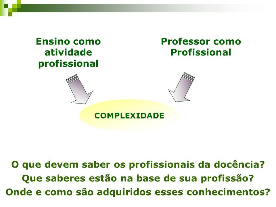 Professor como Profissional