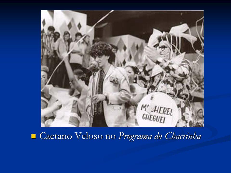 Caetano Veloso no Programa do Chacrinha