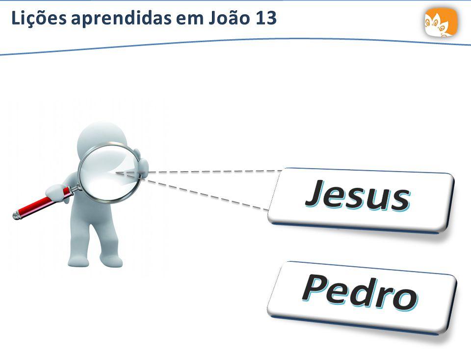 Lições aprendidas em João 13