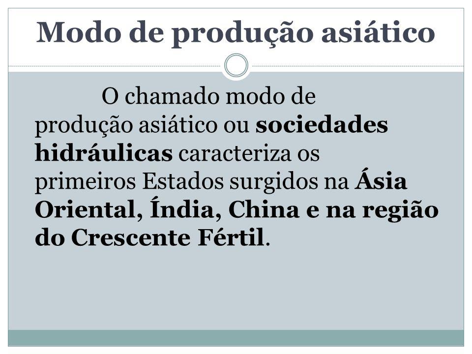Modo de produção asiático