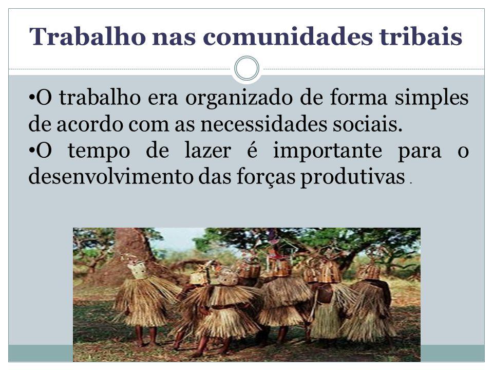 Trabalho nas comunidades tribais
