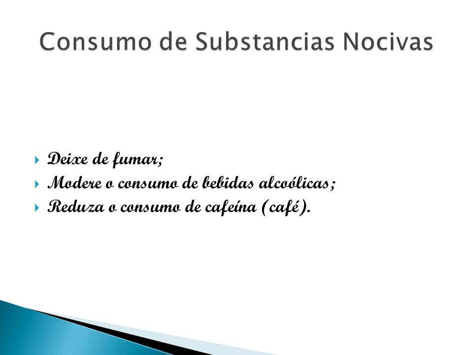 Consumo de Substancias Nocivas