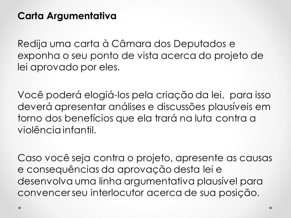 Textos redação dissertativa argumentativa