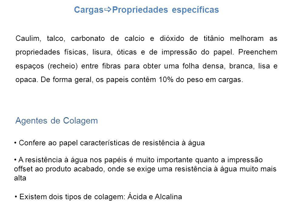 CargasPropriedades específicas