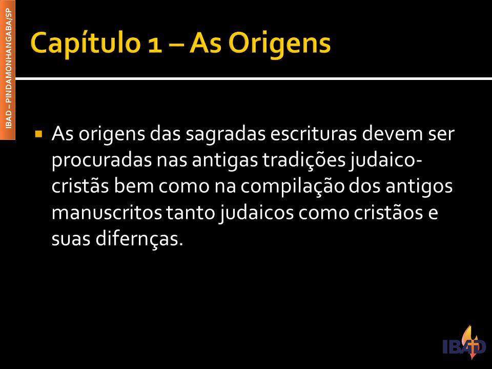 Capítulo 1 – As Origens