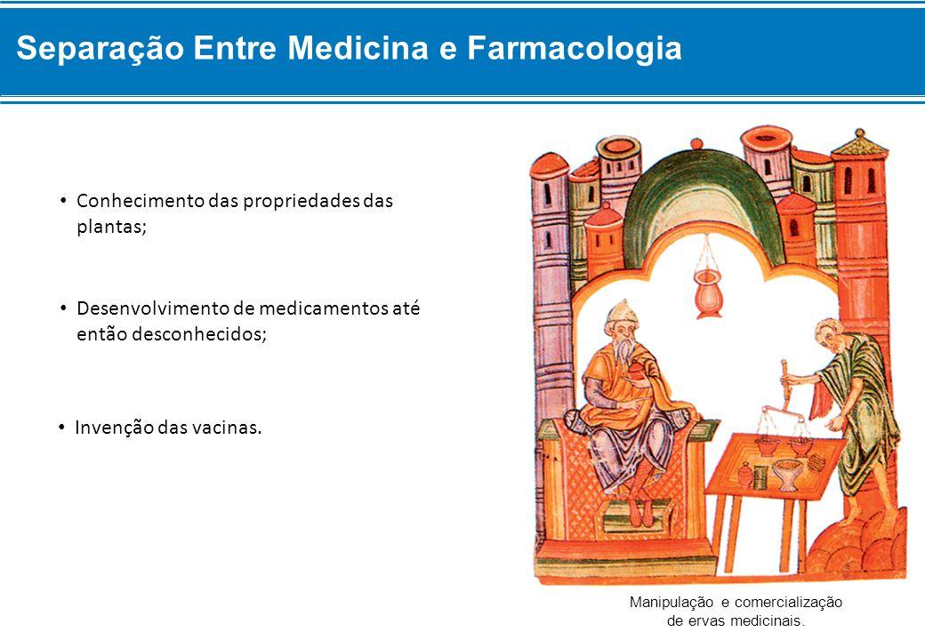 Manipulação e comercialização de ervas medicinais.