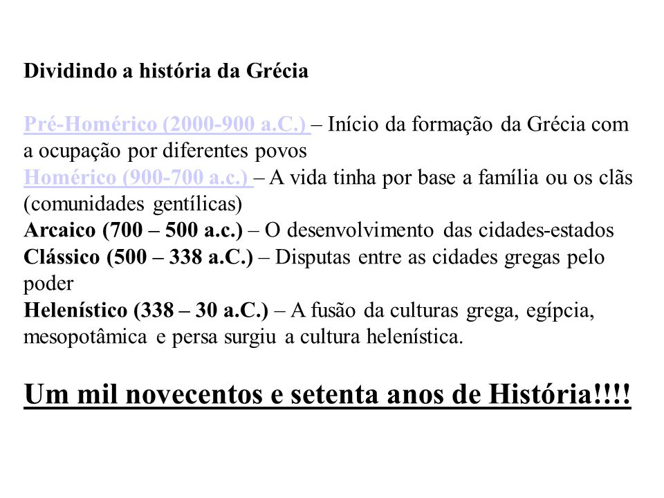 Um mil novecentos e setenta anos de História!!!!