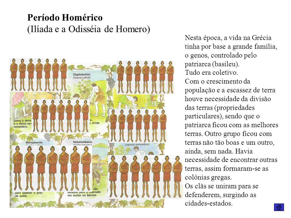 (Ilíada e a Odisséia de Homero)
