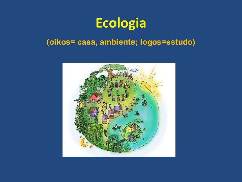 (oikos= casa, ambiente; logos=estudo)