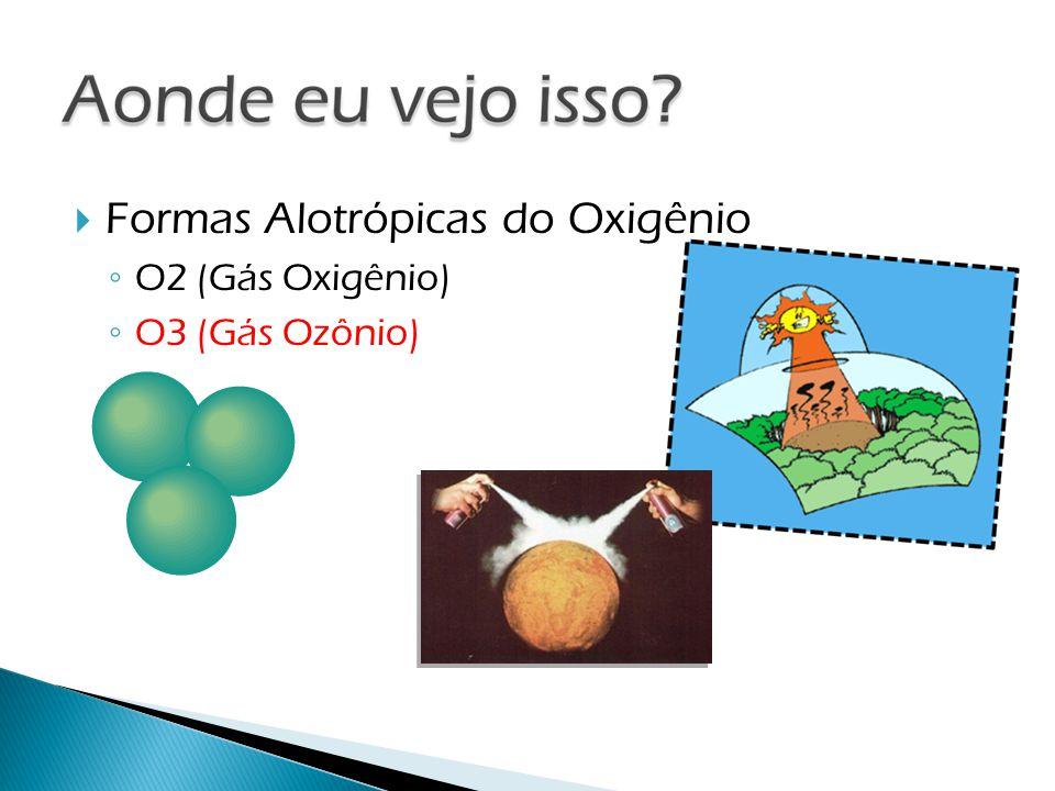 Formas Alotrópicas do Oxigênio