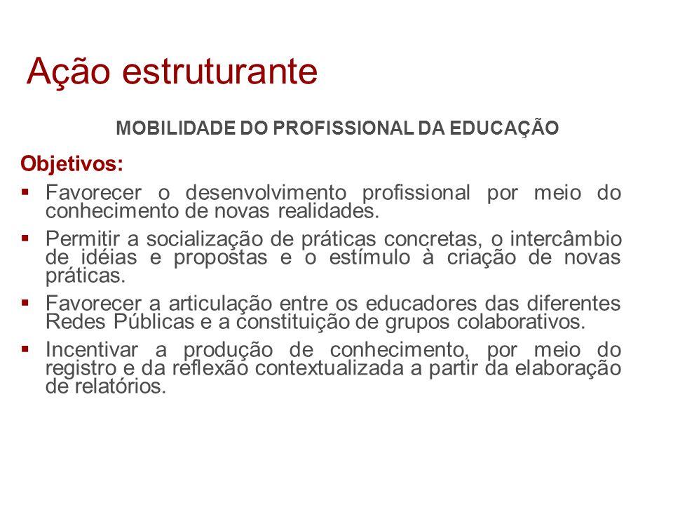 MOBILIDADE DO PROFISSIONAL DA EDUCAÇÃO