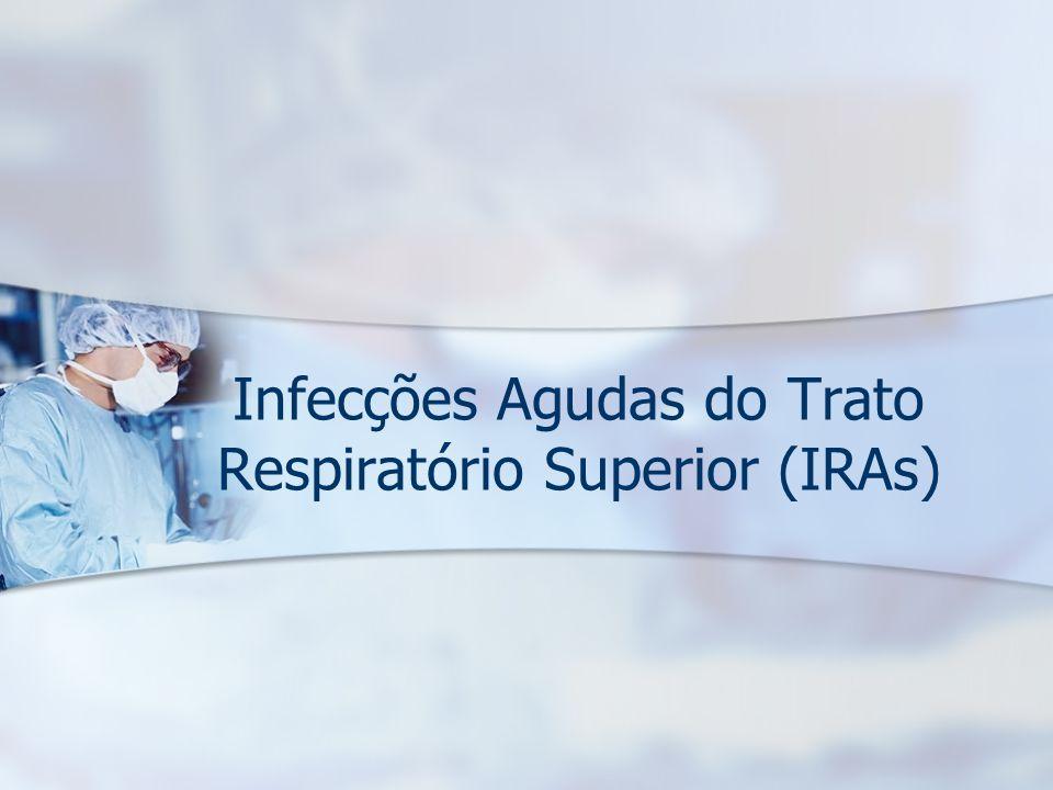 Infecções Agudas do Trato Respiratório Superior (IRAs)