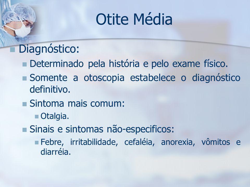 Otite Média Diagnóstico: