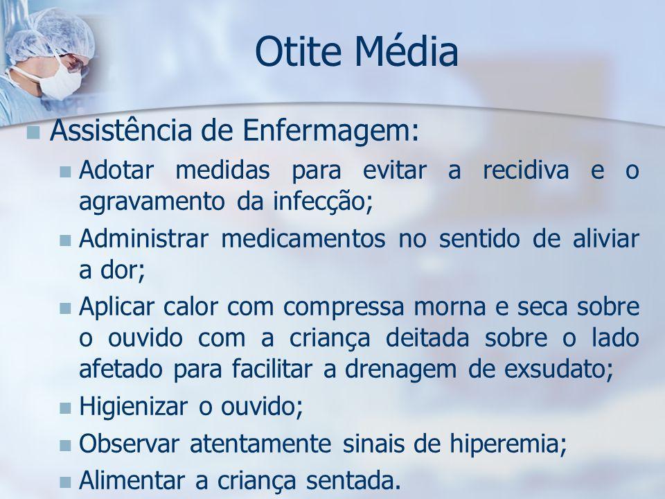 Otite Média Assistência de Enfermagem: