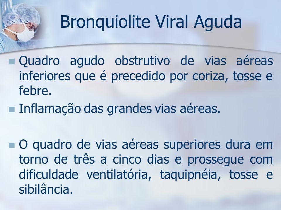 Bronquiolite Viral Aguda