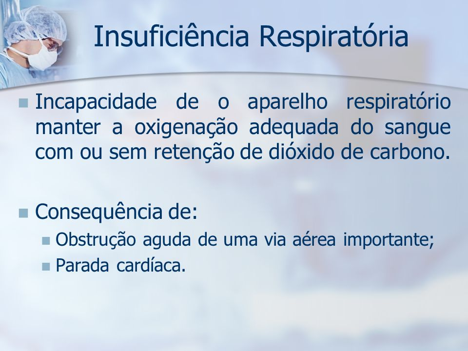 Insuficiência Respiratória