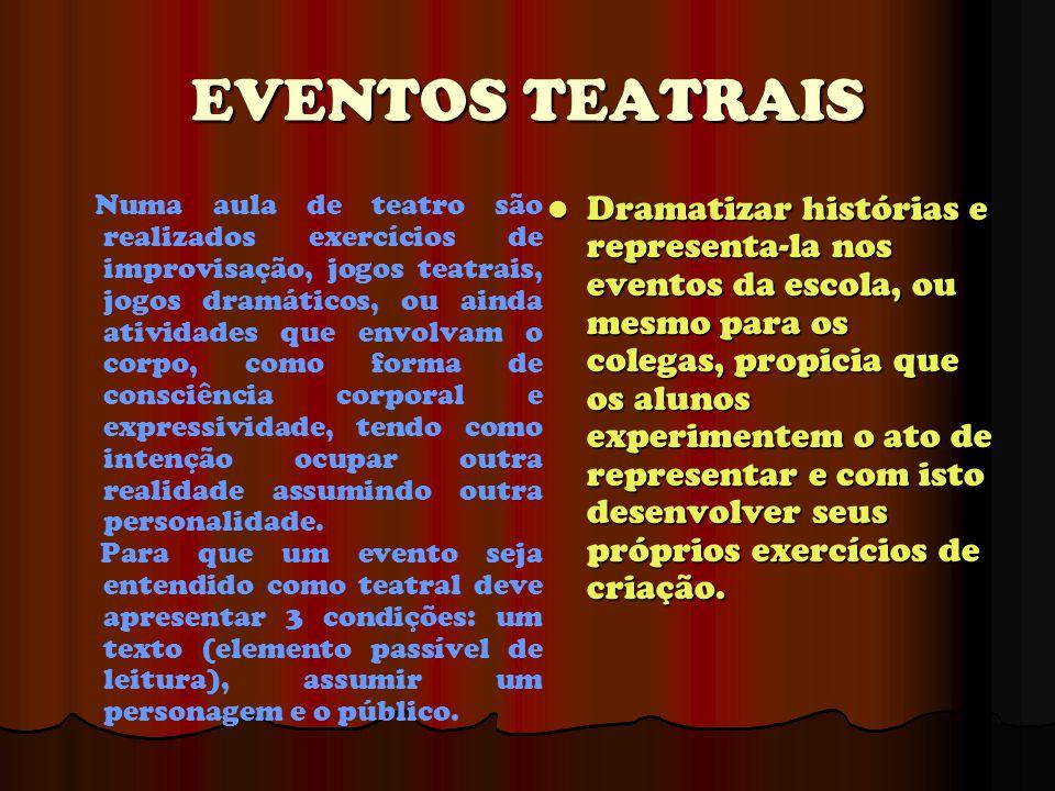 EVENTOS TEATRAIS