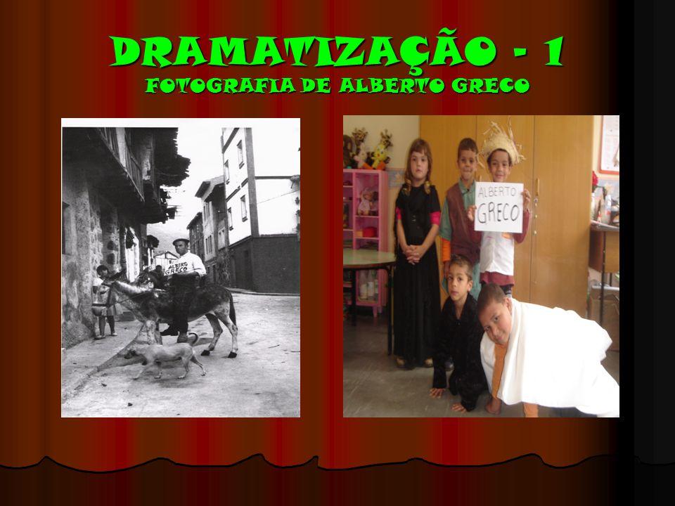 DRAMATIZAÇÃO – 1 FOTOGRAFIA DE ALBERTO GRECO