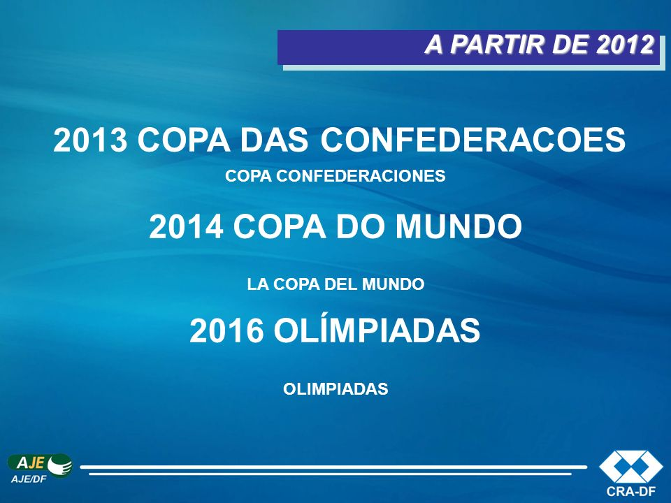 2013 COPA DAS CONFEDERACOES COPA CONFEDERACIONES 2014 COPA DO MUNDO
