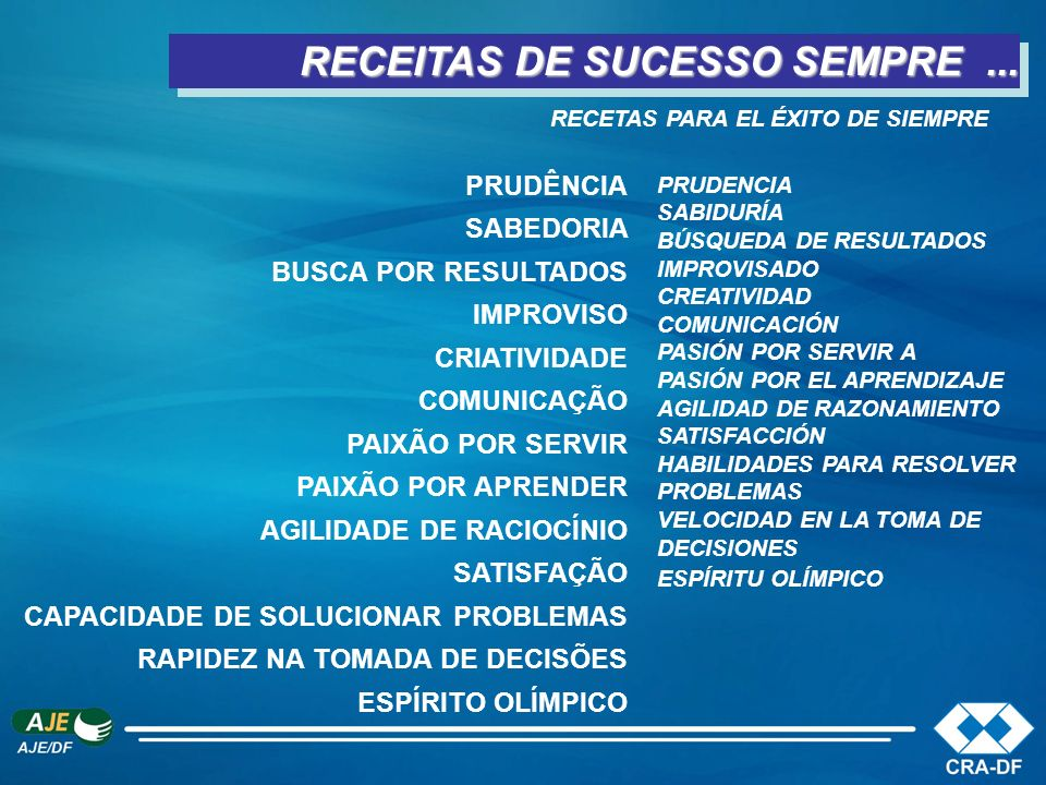 RECEITAS DE SUCESSO SEMPRE ...