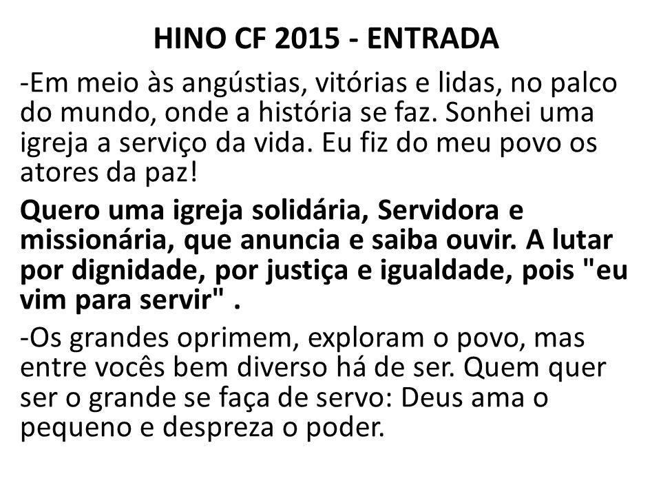 HINO CF 2015 - ENTRADA