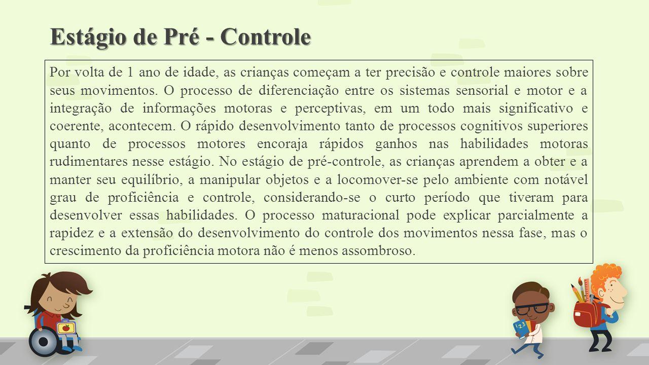 Estágio de Pré - Controle