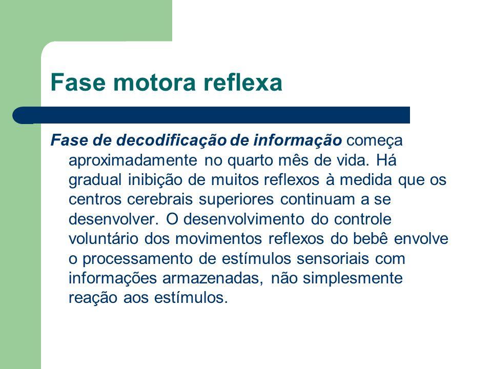 Fase motora reflexa