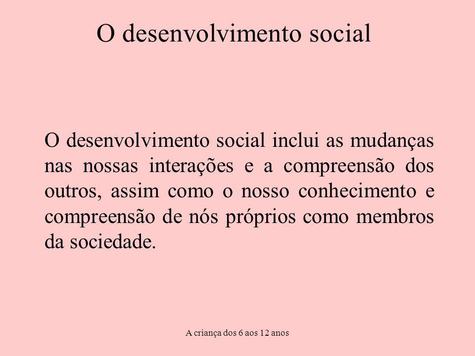 O desenvolvimento social