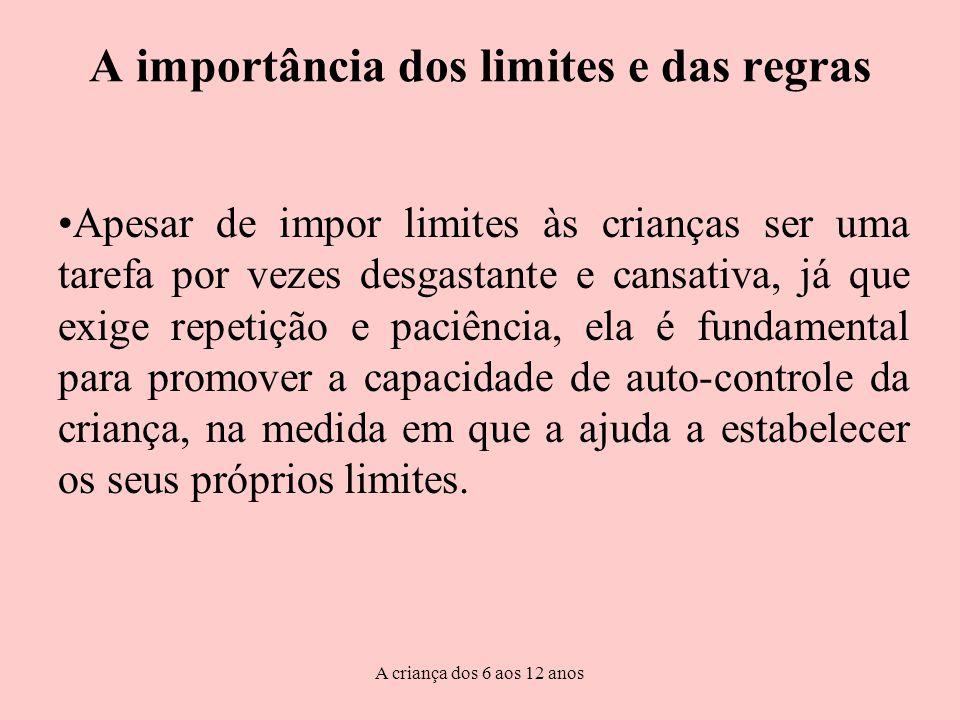 A importância dos limites e das regras
