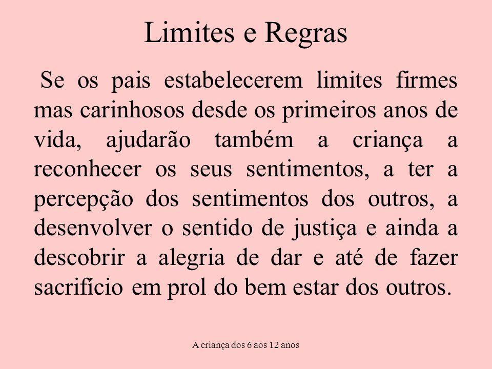 Limites e Regras