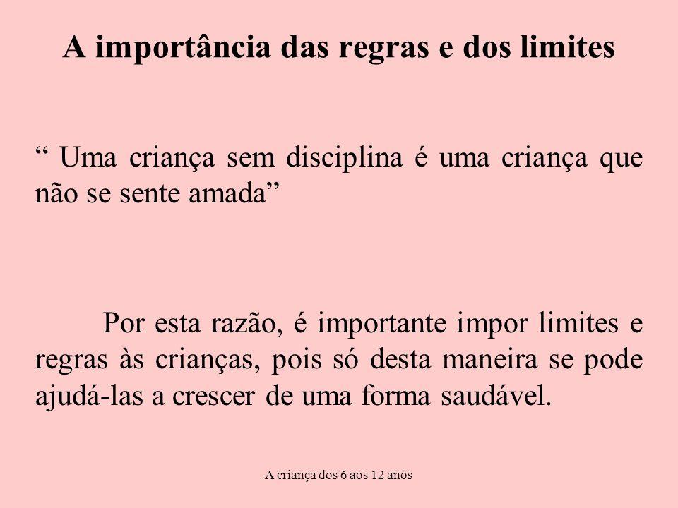 A importância das regras e dos limites