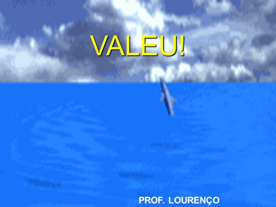 VALEU! PROF. LOURENÇO