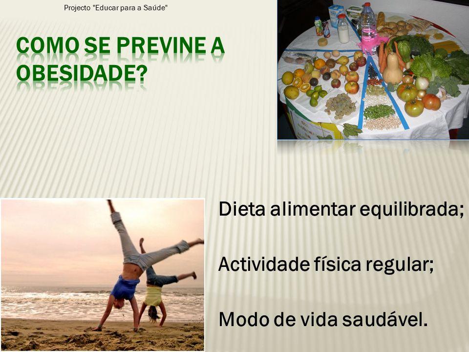 Como se previne a obesidade