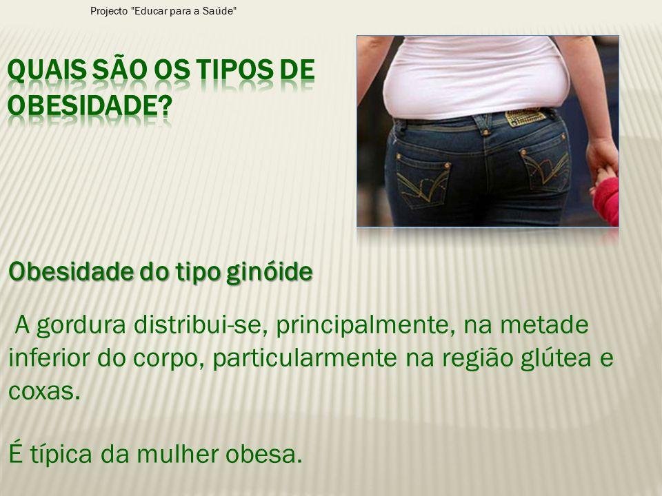 Quais são os tipos de obesidade