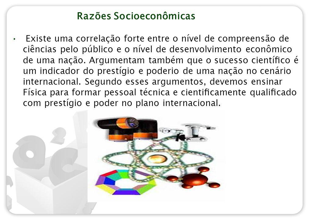 Razões Socioeconômicas