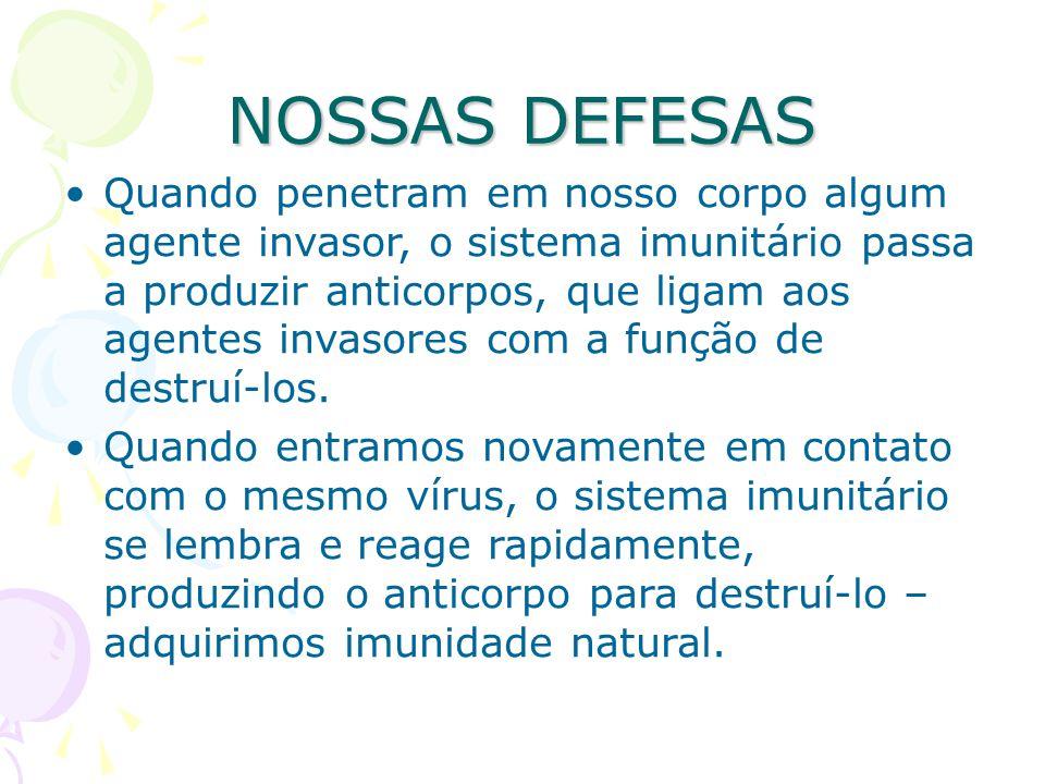 NOSSAS DEFESAS