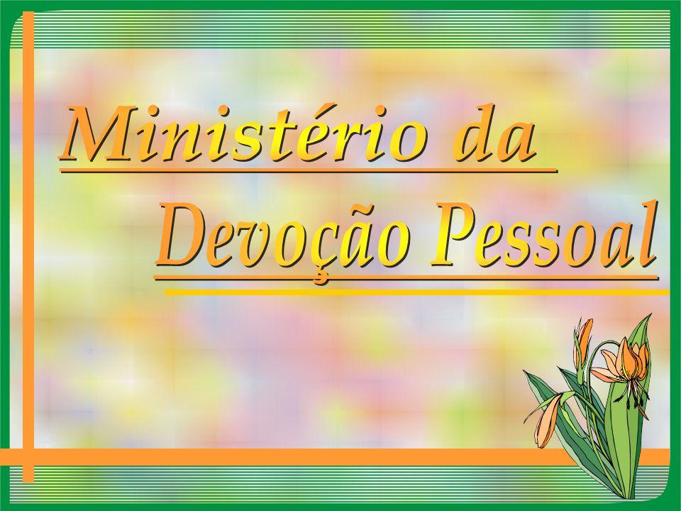Ministério da Devoção Pessoal