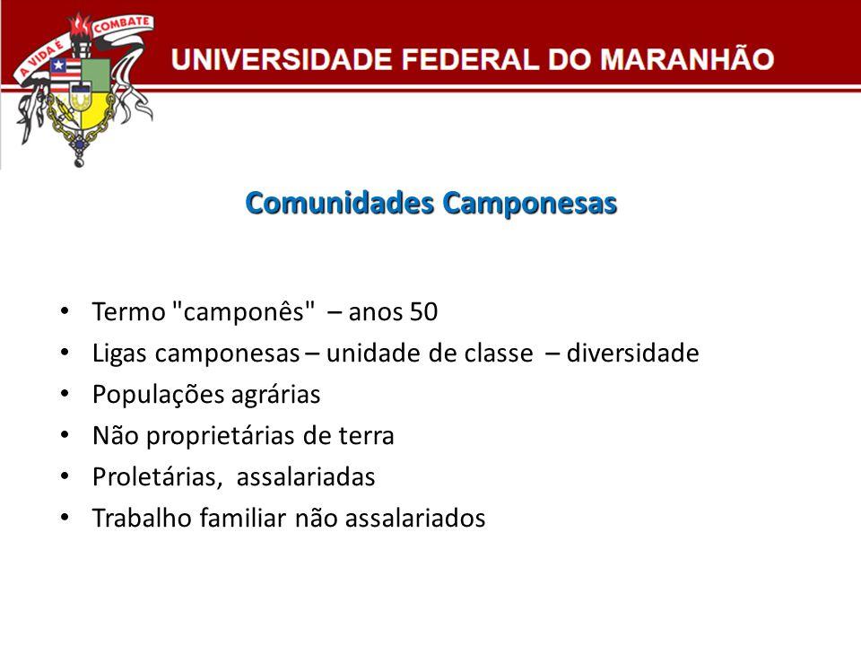 Comunidades Camponesas